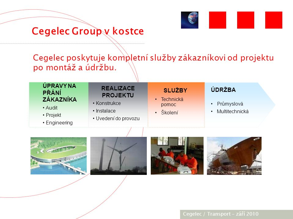 [City / Unit] – [date] 2005 Dodáno trakční zařízení střídavého napětí:  AC Drive/TV Europulse CAC 250N NF  Statický měnič SMTK 14M  Motor TAM 1050C6 – 175 kW Trolejbus Bogdan T701.15 Cegelec, Transport - září 2010