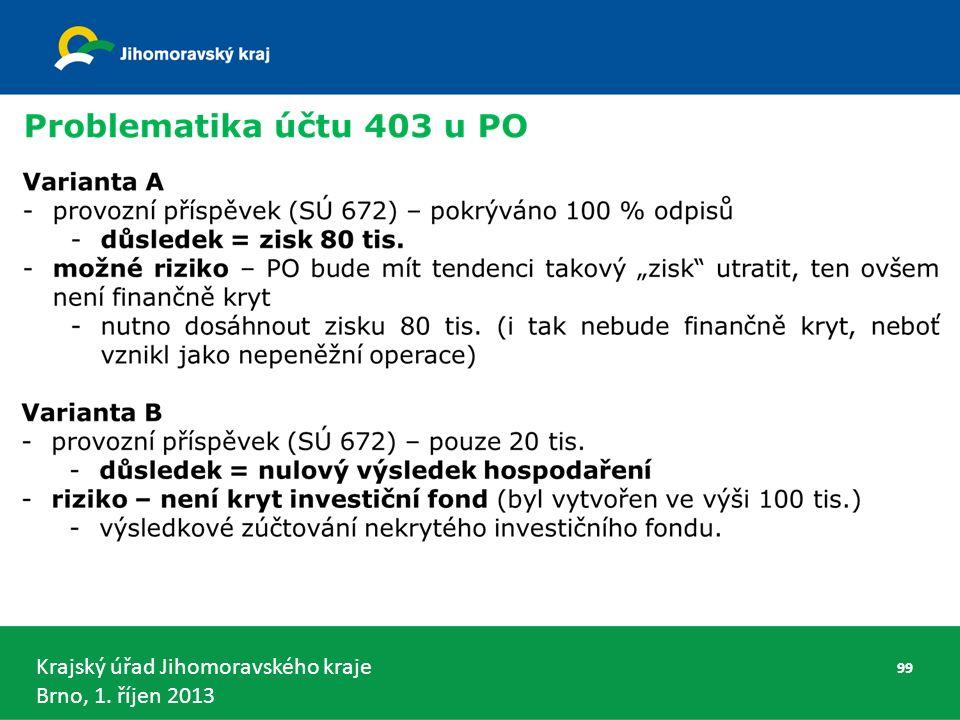 Krajský úřad Jihomoravského kraje Brno, 1. říjen 2013 99