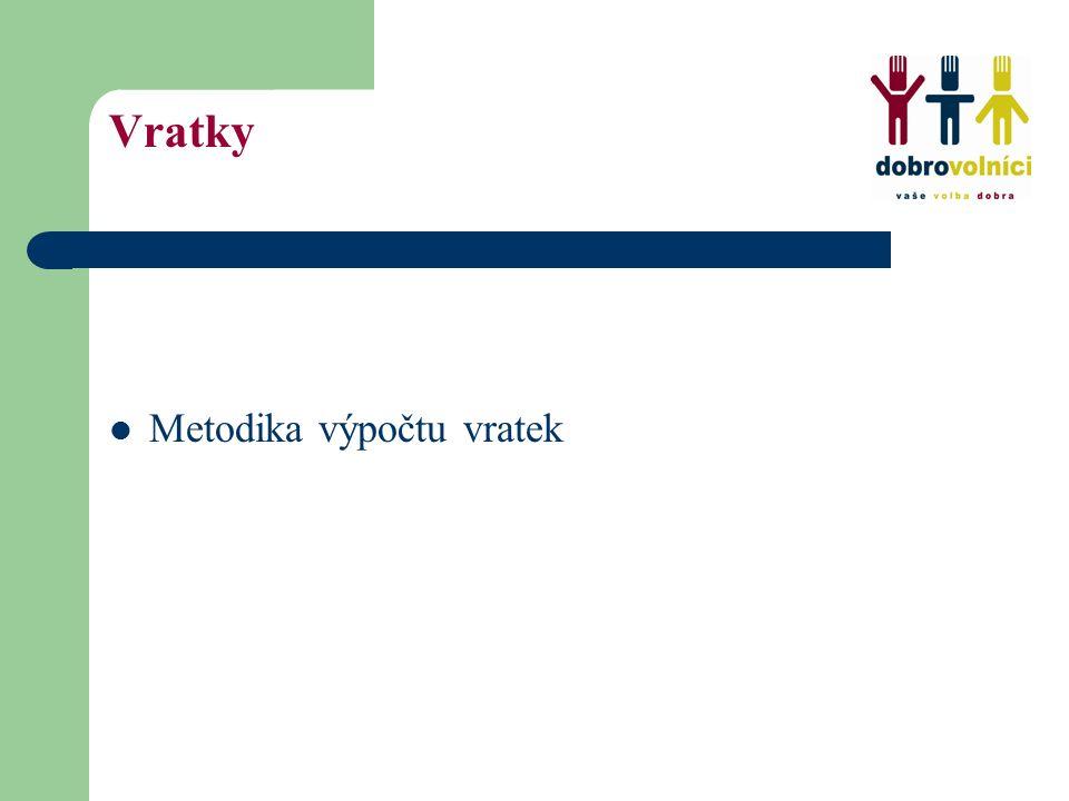Změny pro rok 2009 Změna usnesení vlády České republiky č.