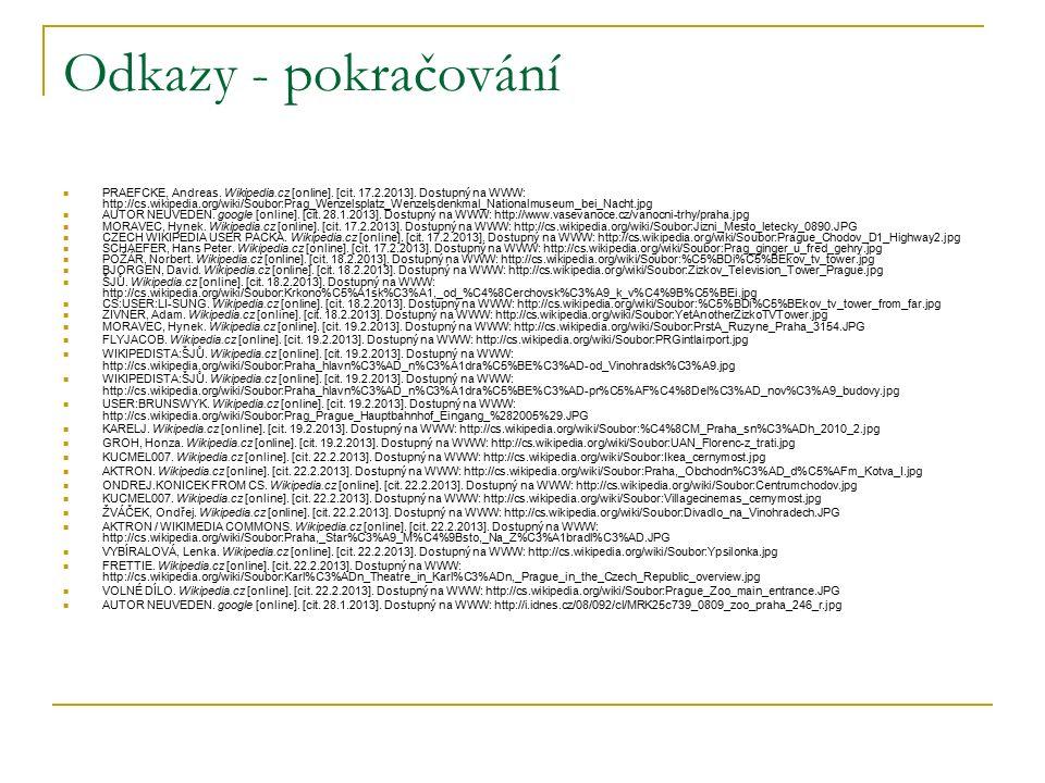 Odkazy - pokračování PRAEFCKE, Andreas. Wikipedia.cz [online].