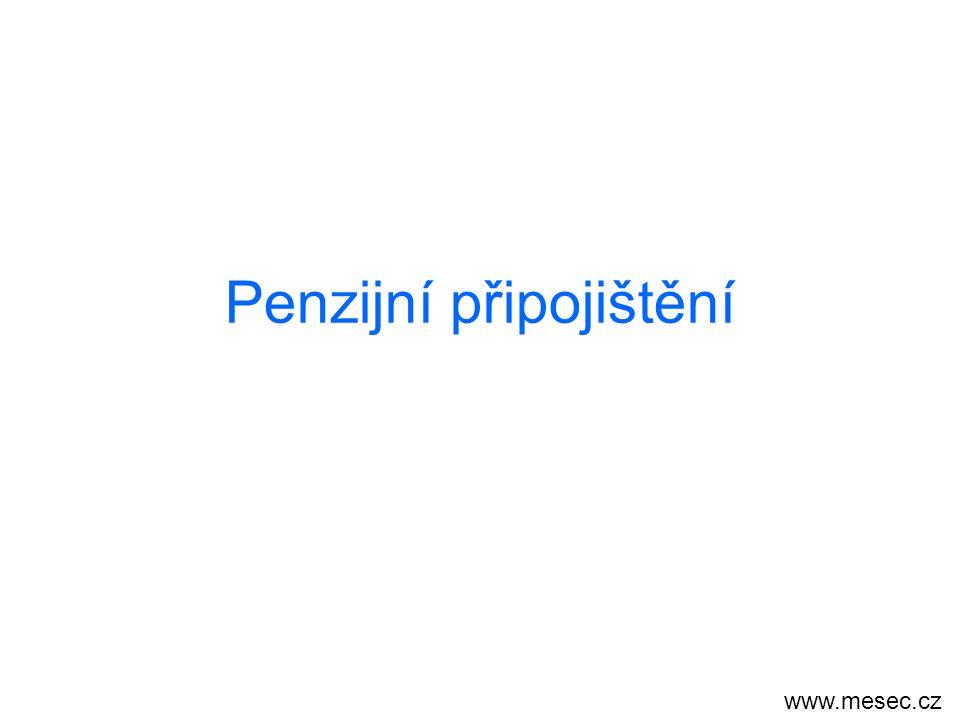 Penzijní připojištění www.mesec.cz
