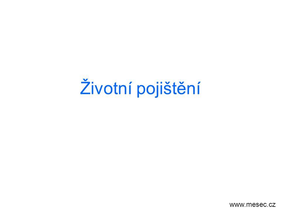 Životní pojištění www.mesec.cz
