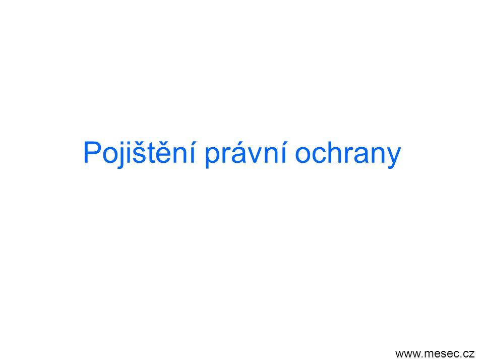 Pojištění právní ochrany www.mesec.cz