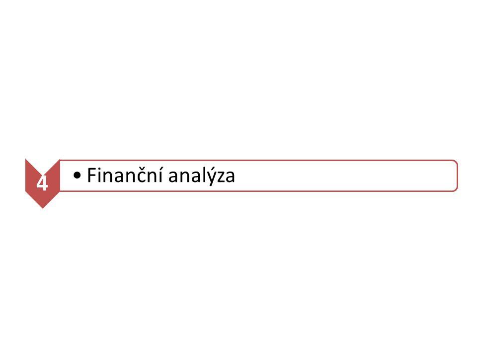 4 Finanční analýza