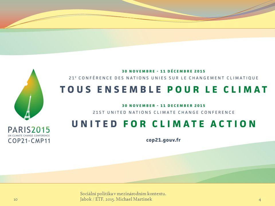 Klimatická konference má první návrh dohody.