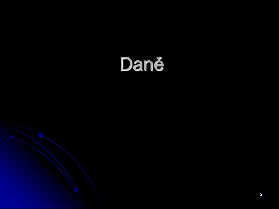 2 Daně
