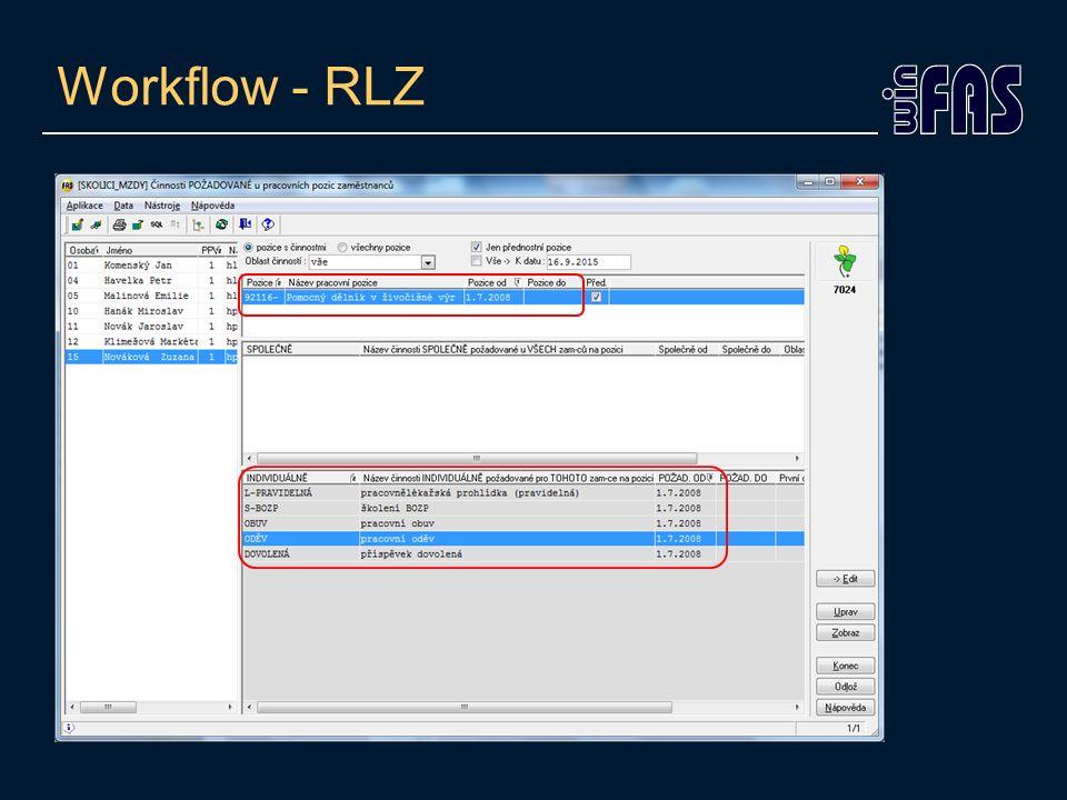 Workflow - RLZ