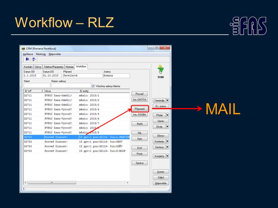 Workflow – RLZ MAIL