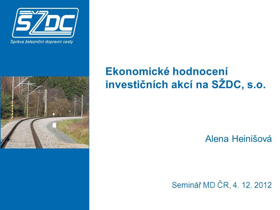 www.szdc.cz Děkuji za pozornost. © Správa železniční dopravní cesty, státní organizace