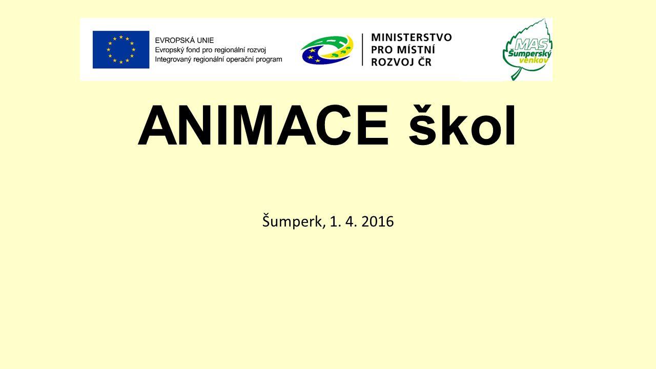 ANIMACE škol Šumperk, 1. 4. 2016