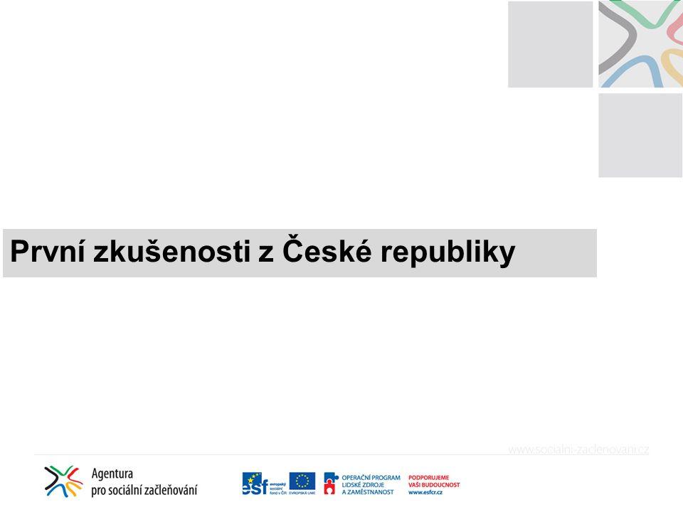 První zkušenosti z České republiky