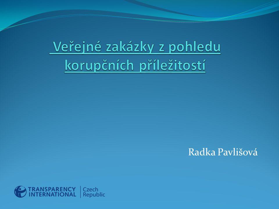 Obsah I.ÚVOD II. INDIKÁTORY KORUPCE V JEDNOTLIVÝCH FÁZÍCH VEŘEJNÉ ZAKÁZKY III.