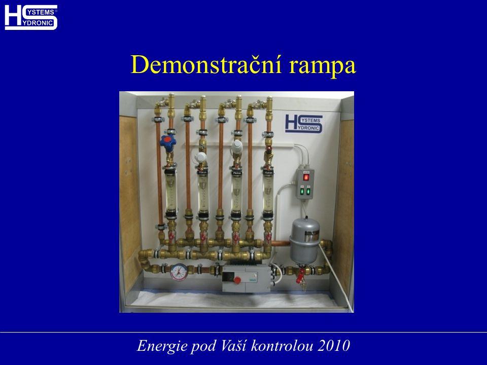 Energie pod Vaší kontrolou 2010 Demonstrační rampa