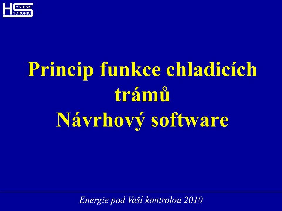 Energie pod Vaší kontrolou 2010 Princip funkce chladicích trámů Návrhový software