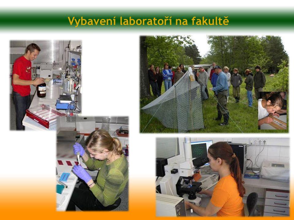 Vybavení laboratoří na fakultě