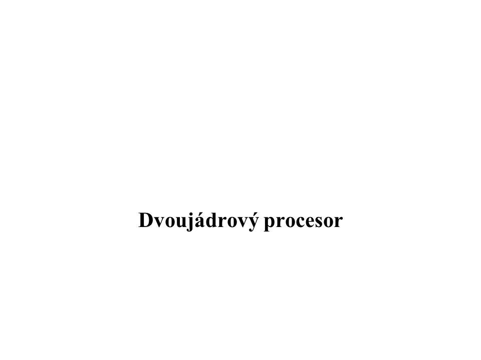 Dvoujádrový procesor