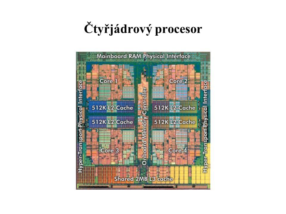 Čtyřjádrový procesor