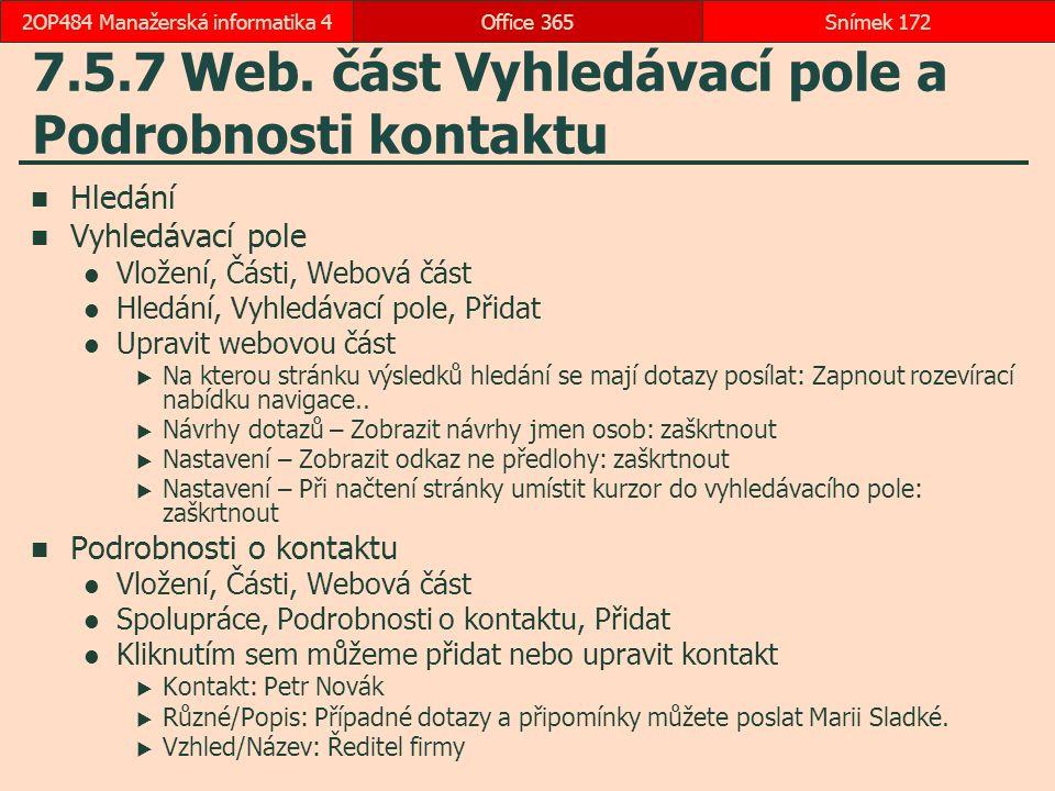 7.5.7 Web.