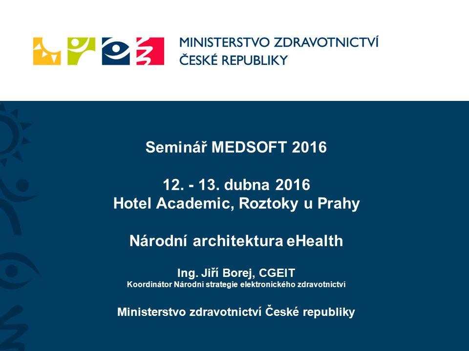 Seminář MEDSOFT 2016 12. - 13.