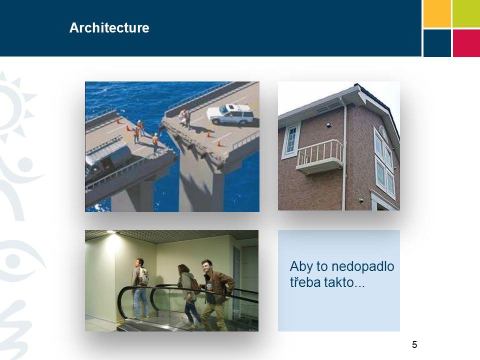 Architecture Aby to nedopadlo třeba takto... 5