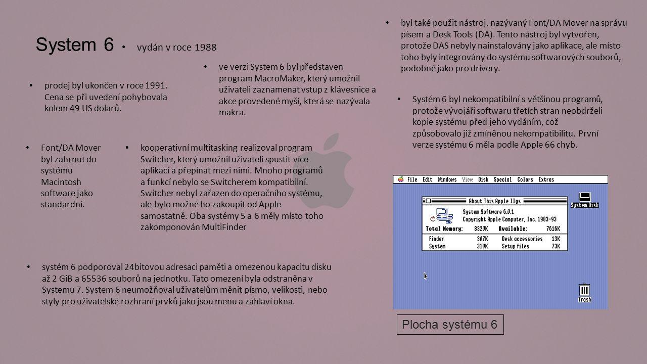 System 7 vydán 13.