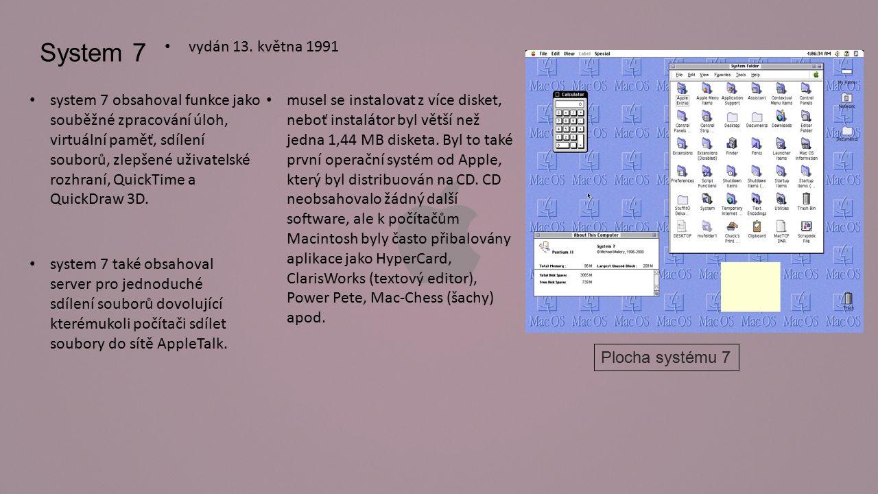 Mac OS 8 vydaný 26.července 1997 během prvních dvou týdnů se ho prodalo přes 1,2 milionu kopií.