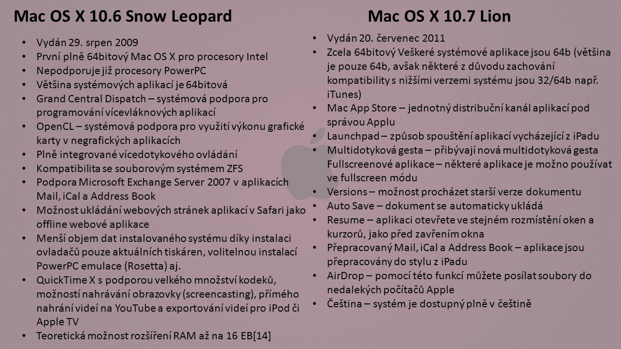OS X 10.8 Mountain Lion Vydán 19.