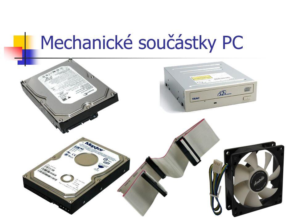 Mechanické součástky PC