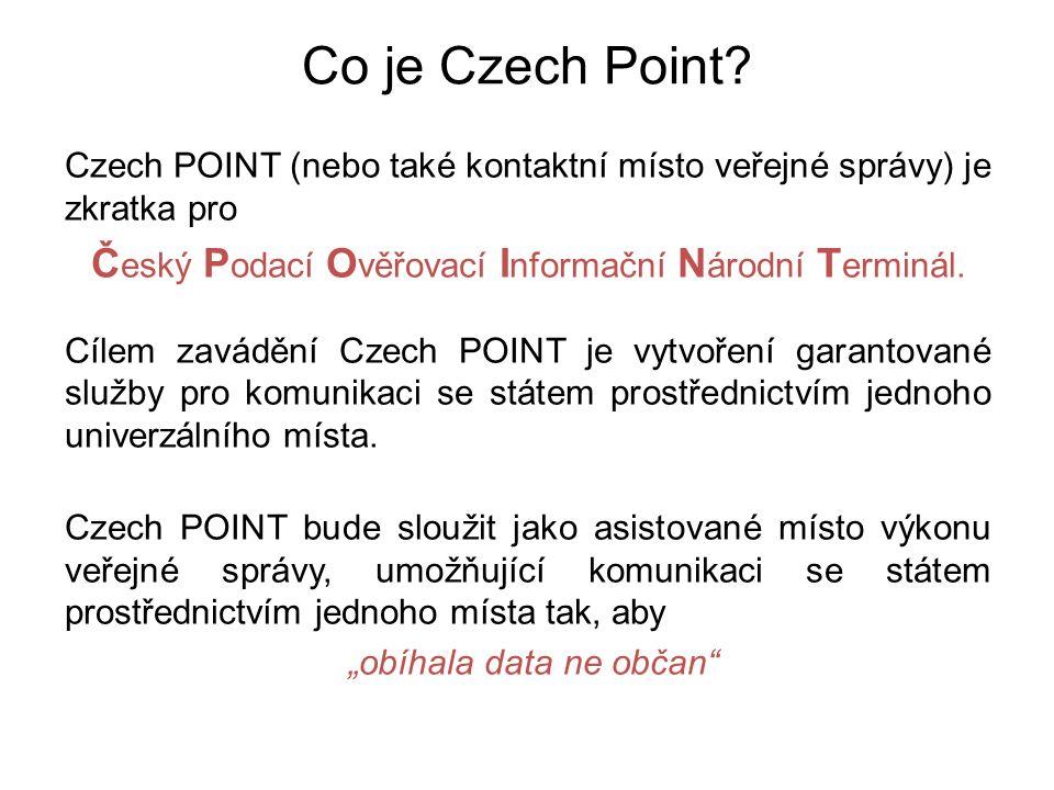 Co je Czech Point.