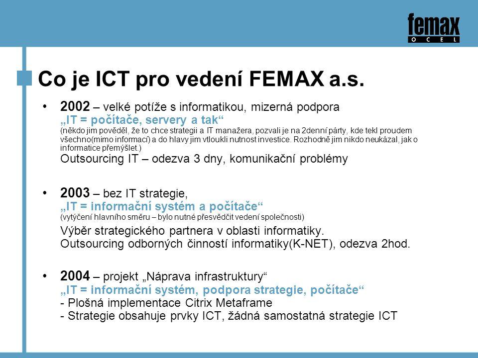 Co je ICT pro vedení FEMAX a.s.
