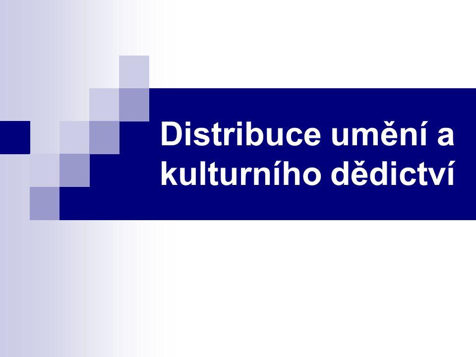 Distribuce umění a kulturního dědictví