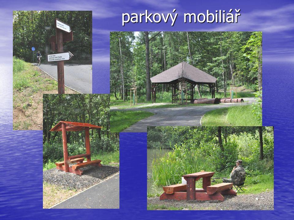 parkový mobiliář
