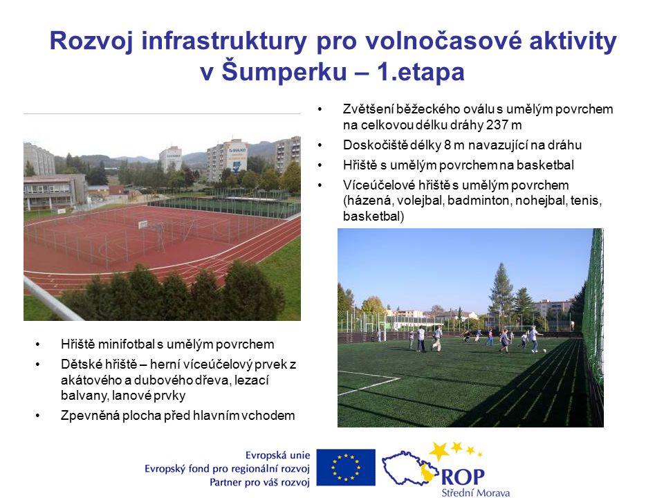 Rozvoj integrovaného dopravního systému v Šumperku – rekonstrukce zastávek MHD V rámci projektu byla provedena rekonstrukce 11 zastávek.