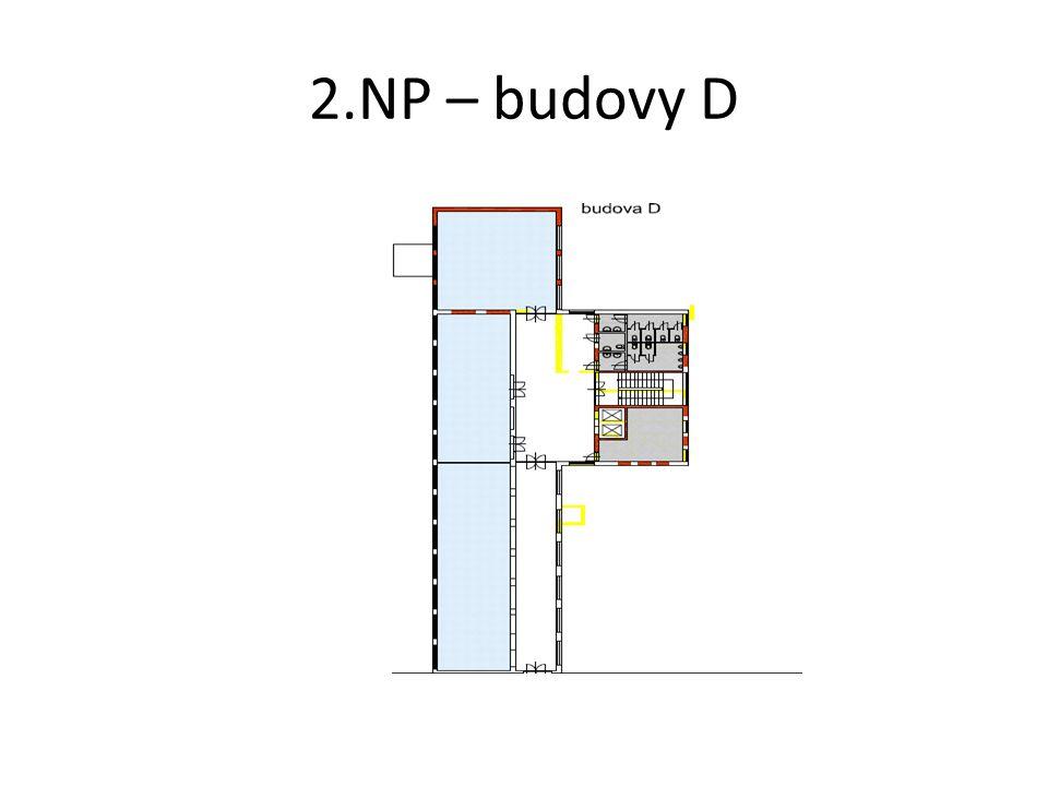 2.NP – budovy D