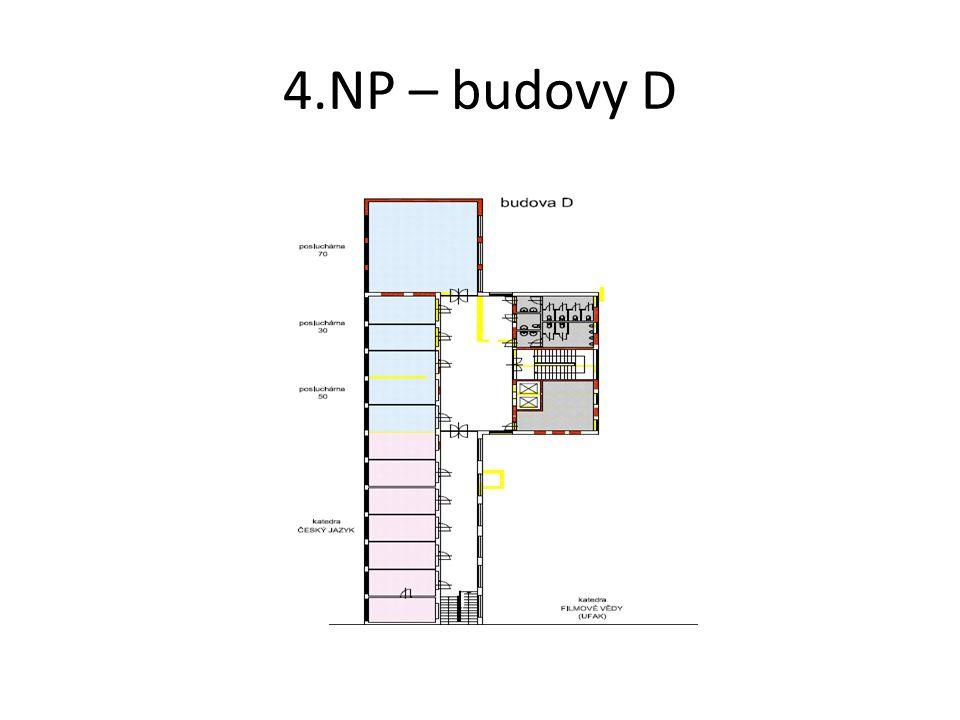 4.NP – budovy D
