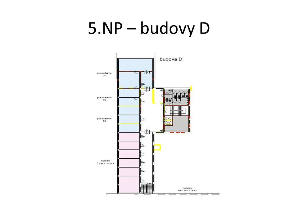 5.NP – budovy D