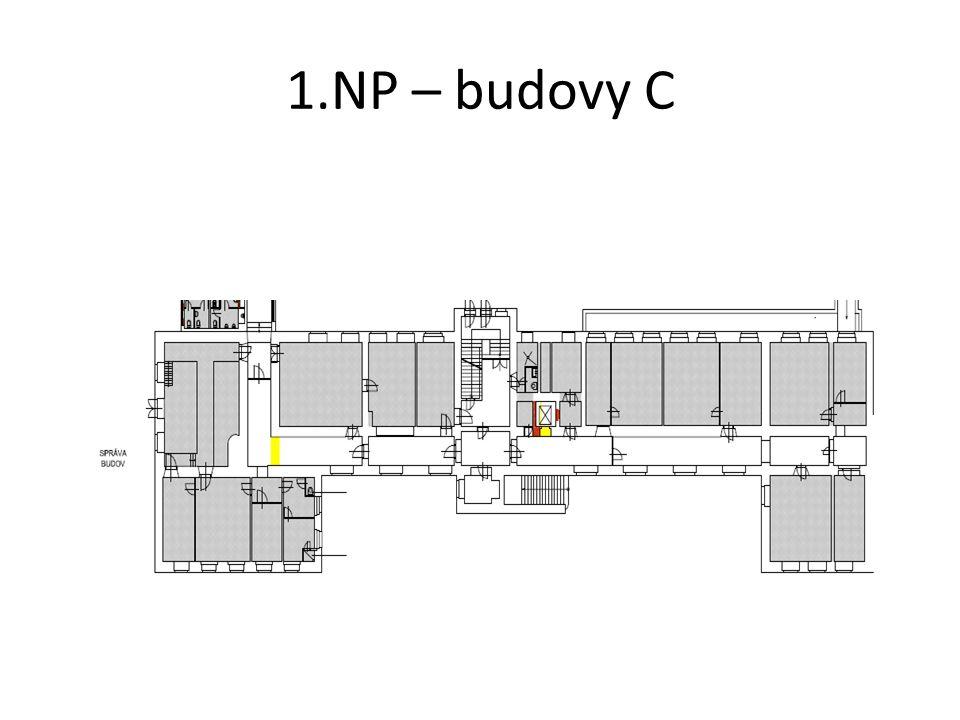 1.NP – budovy C
