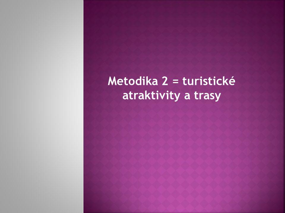Metodika 2 = turistické atraktivity a trasy