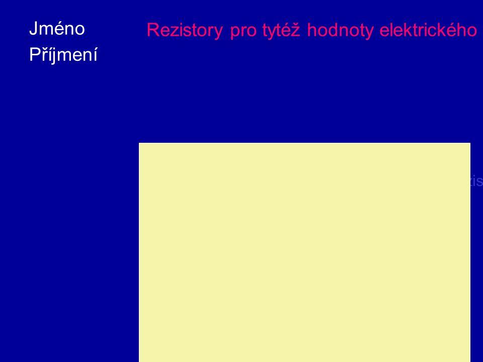 Při větším proudovém zatížení by se drobný rezistor silně zahříval, čímž by mohl poškodit elektrické zařízení.