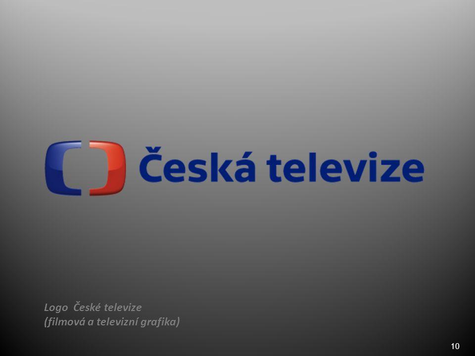 10 Logo České televize (filmová a televizní grafika)