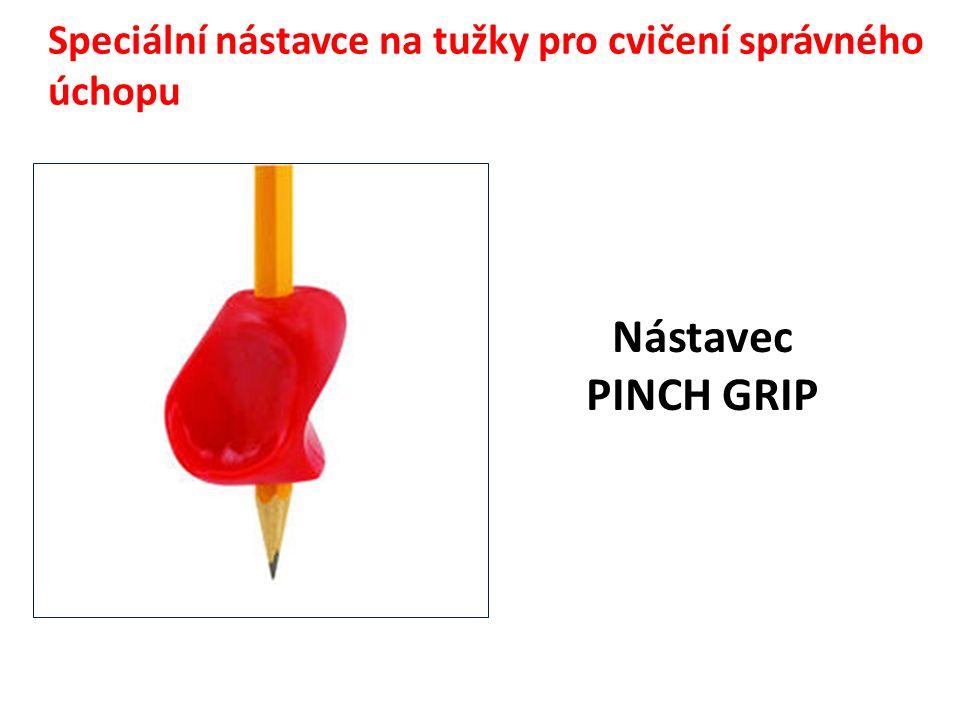 Speciální nástavce na tužky pro cvičení správného úchopu Nástavec PINCH GRIP