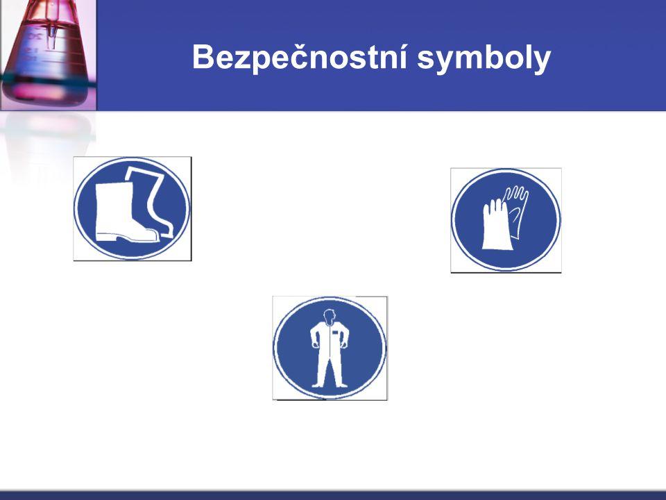 Bezpečnostní symboly