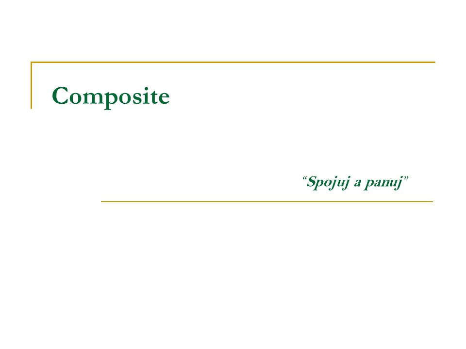 Composite Spojuj a panuj