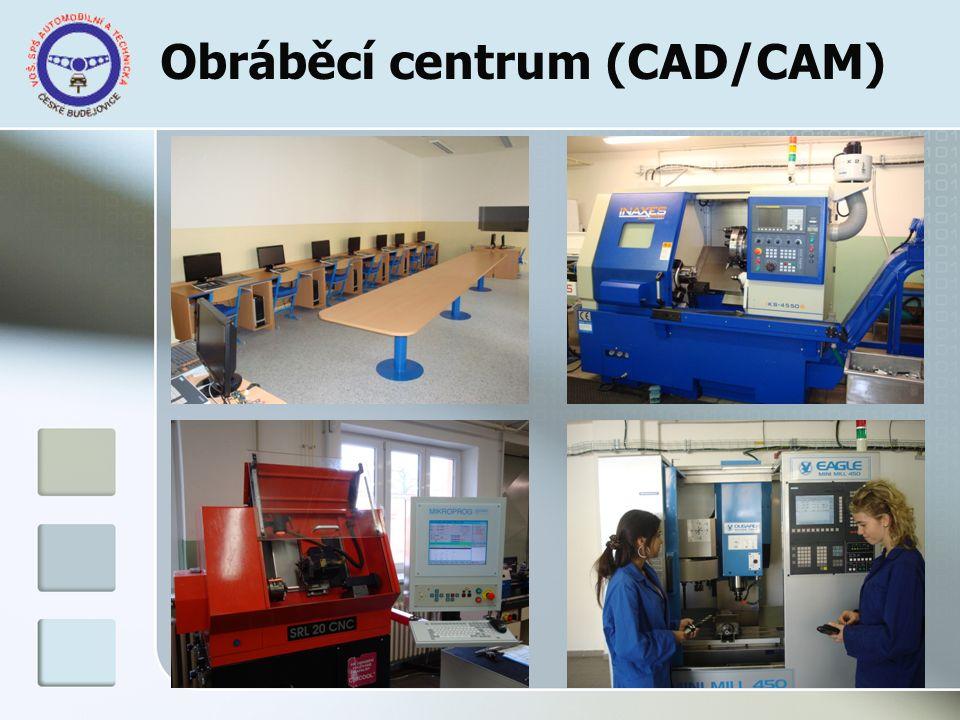Obráběcí centrum (CAD/CAM)