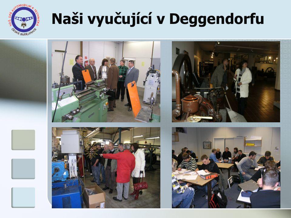 Naši vyučující v Deggendorfu