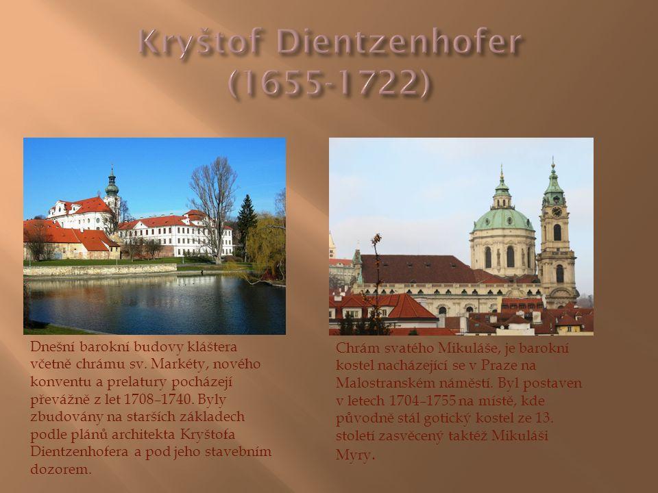Dnešní barokní budovy kláštera včetně chrámu sv. Markéty, nového konventu a prelatury pocházejí převážně z let 1708–1740. Byly zbudovány na starších z