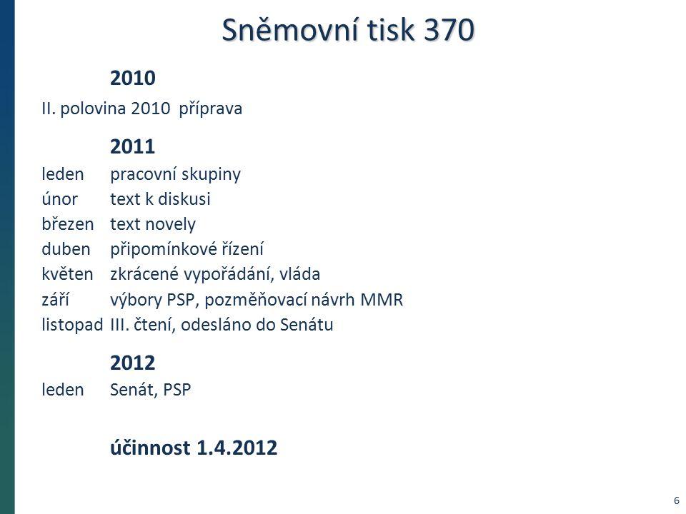 Sněmovní tisk 370 2010 II.
