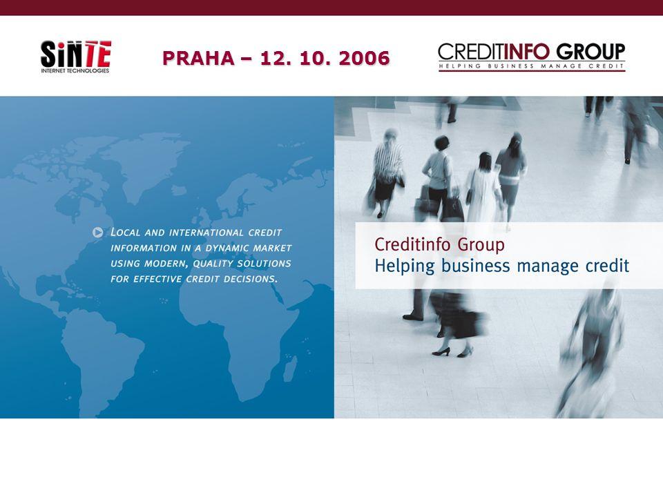 12. 10. 2006SinTe s.r.o39 PRAHA – 12. 10. 2006
