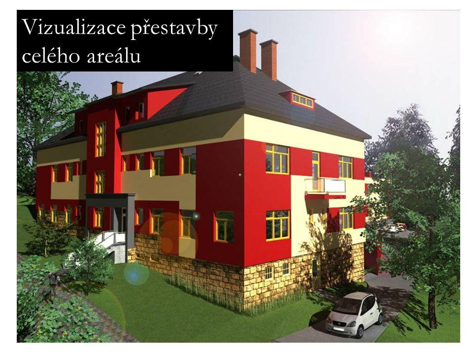 Vizualizace přestavby celého areálu