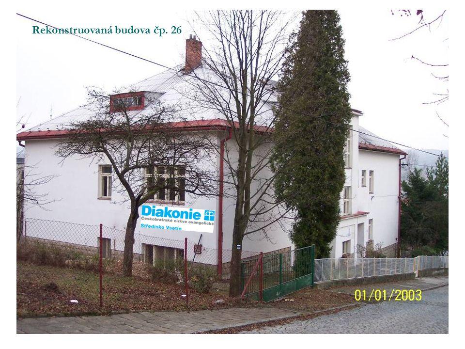 Postup prací Rok 2006 – architektonická studie (150 tis.) 2007 – 2008 územní rozhodnutí (450 tis.) – na celý areál tj.